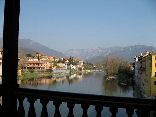 Bassano del Grappa - Ponte degli Alpini - km 15