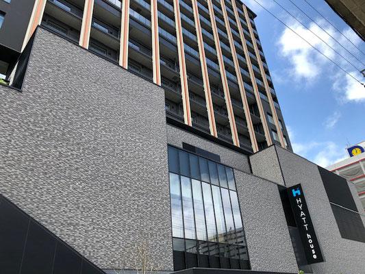 15階建て「ハイアットハウス 金沢」は中長期滞在型ホテル