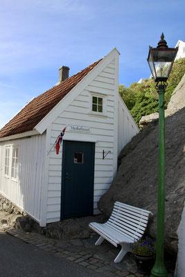 Ankunft in Skudeneshavn auf Amøy - die weiße Stadt