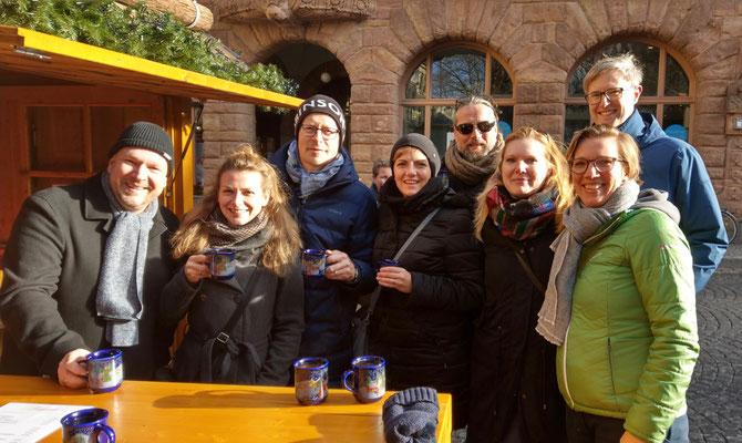 Treffen mit den Zephyr-Seefahrerinnen und Seefahrern