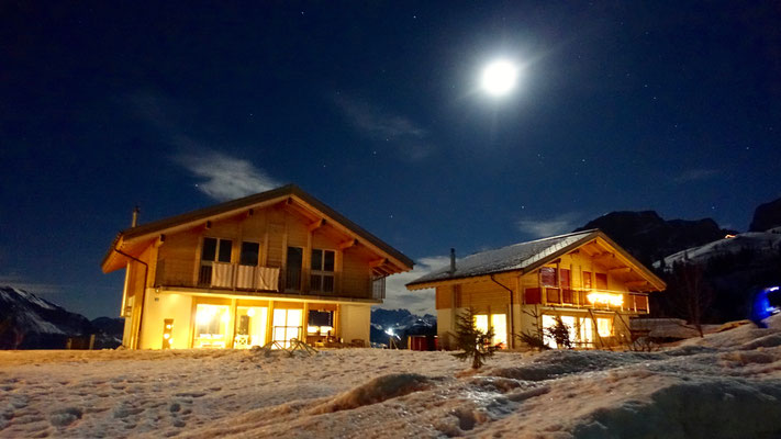 Axalp bei Nacht - Silvester