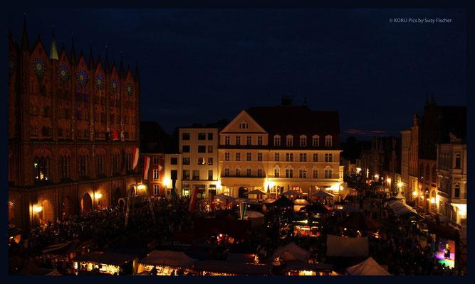 Stralsund Marktplatz (Wallensteintage)