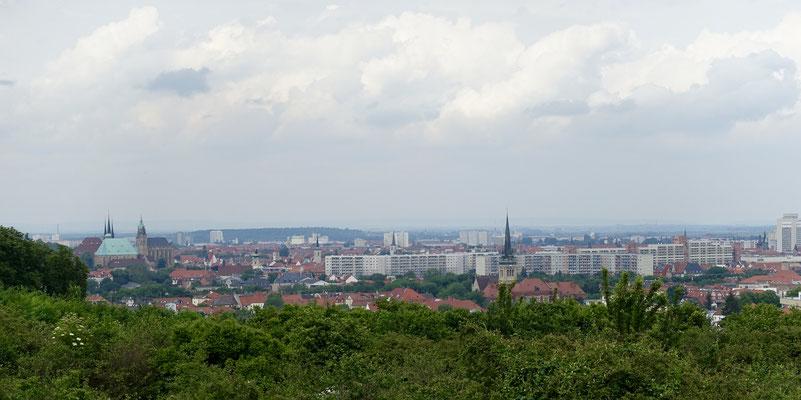 Blick auf Erfurt