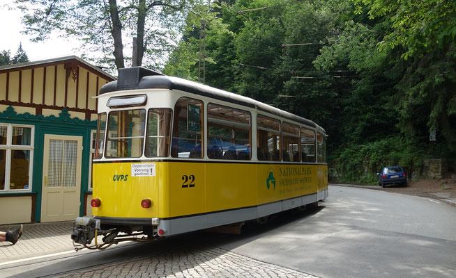 Sächsische Schweiz: Kirnitzschtalbahn