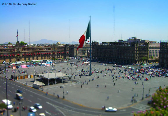 Zocalo, Mexiko Stadt