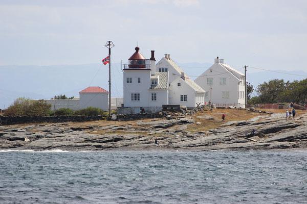 Auf dem Weg zu den Tall Ship Races vor Stavanger: Tungenes Fyr/Randaberg