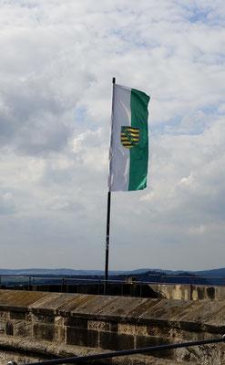 Sachsenflagge