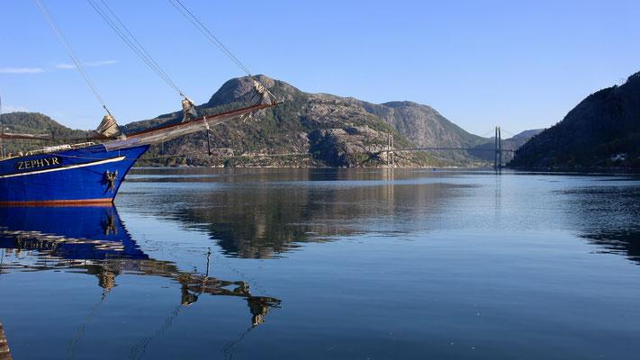 wir starten gen Lysefjord