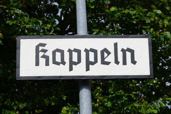historischer Bahnhof in Kappeln