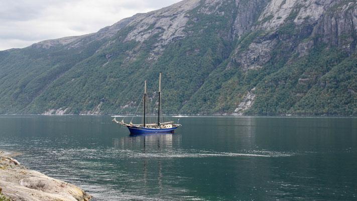 Zephyr im Lysefjord