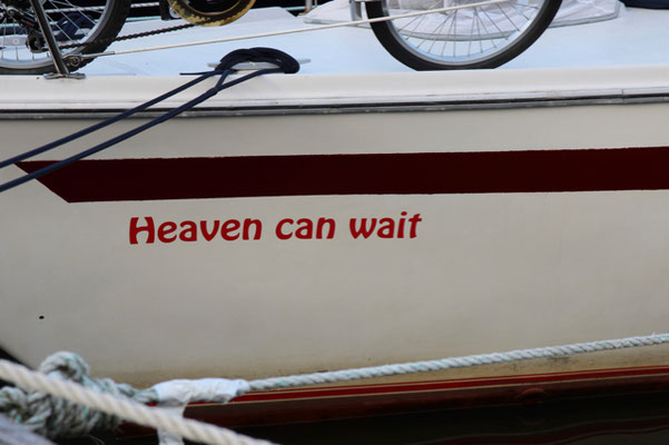 Heaven can wait!