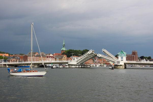 auf der Schlei gen Ostsee