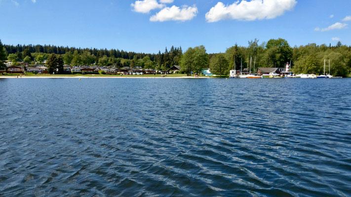 Tretbootrunde auf dem Geyerischen Teich