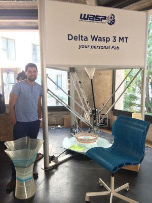 Conociendo la impresora 3D Delta Wasp 3 Mt