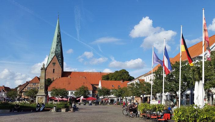 Am Eutiner Marktplatz