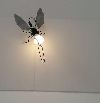 ein paar Leucht-Fliegen sind im Dachraum gelandet