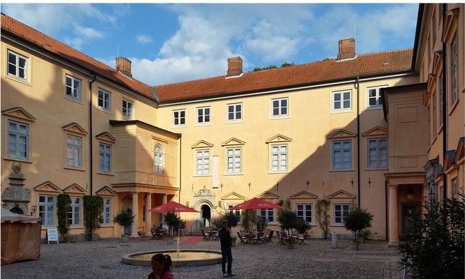 Eutiner Schloss - Innenhof