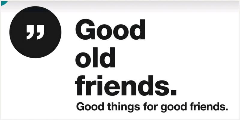 Karten von Good old friends
