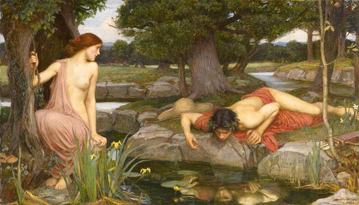 Waterhouse, Echo et Narcisse