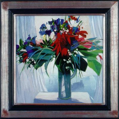 Brissoni, vase bleu