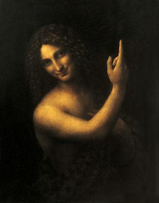 De Vinci, St Jean Baptiste