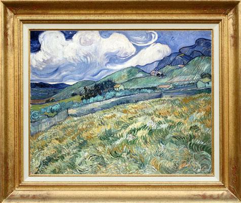 Van Gogh, paysage à St Remy