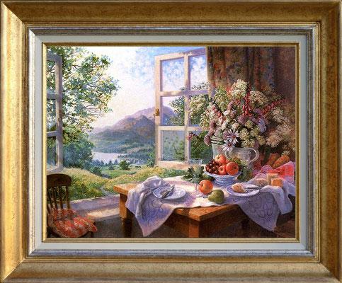 Darbishire, fleurs sauvages et vin d'été