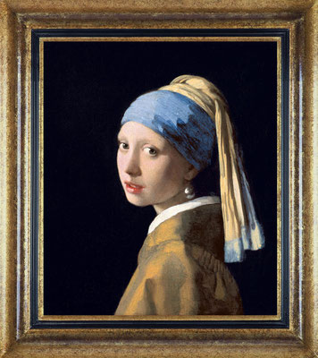 Vermeer, la jeune fille à la perle