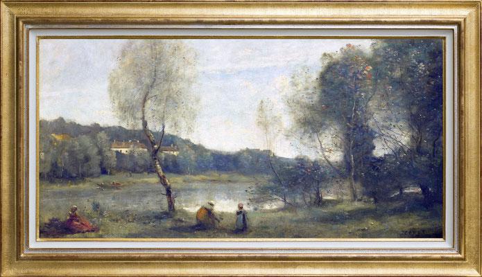 Corot, etang aux bouleaux