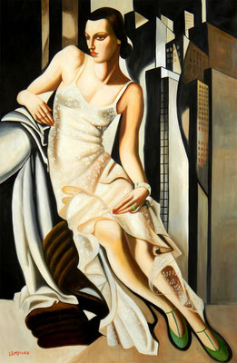Lempicka, portrait d'Allan Bott