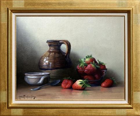 Chailloux, fraises