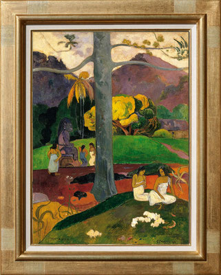 "Gauguin ""mata mua"""