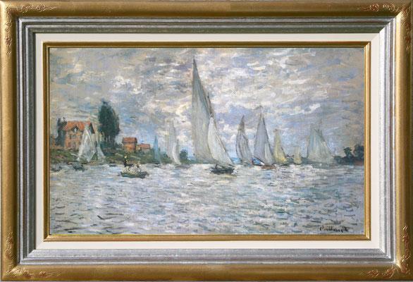 Monet, regate à Argenteuil