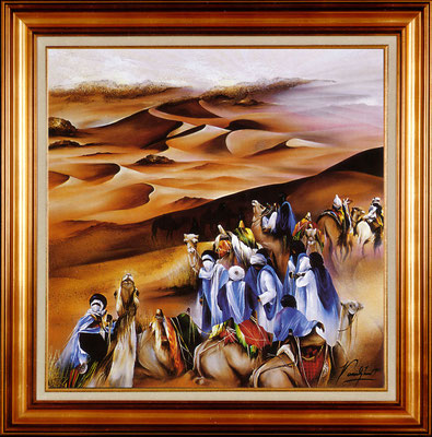 Poulet, danse du sable