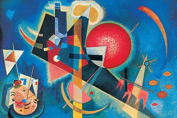Kandinsky, bleu