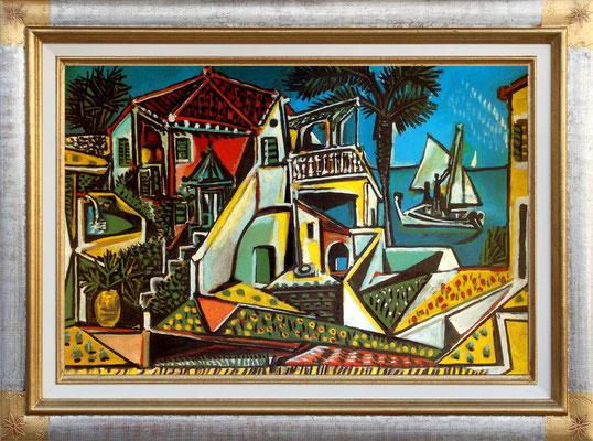 Picasso, paysage méditerranéen
