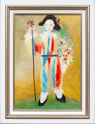 Picasso, le petit Pierrot