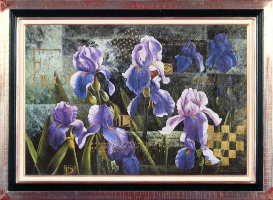 Meng, jardin d'iris