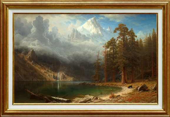 Bierstadt, la vallée du Circoran