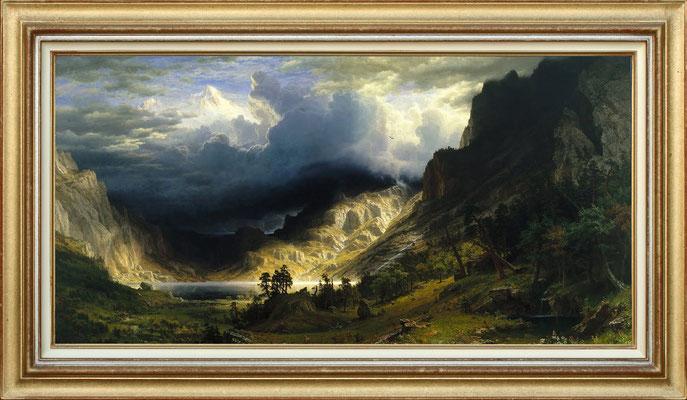 Bierstadt, le Mont Rosalie