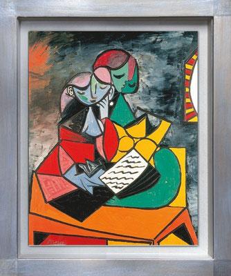 Picasso, la lecture