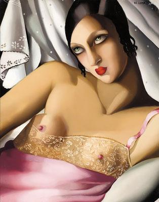Lempicka, la chemise rose II