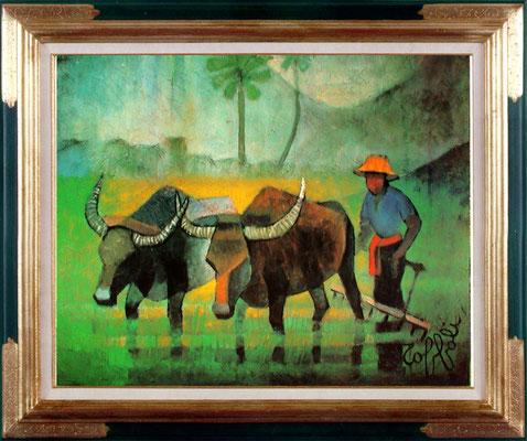 Toffoli, le laboureur dans les rizières