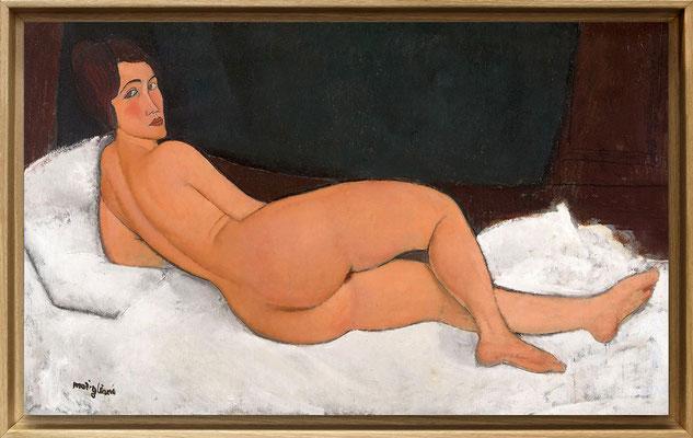 Modigliani, nu de dos