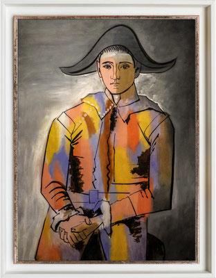 Picasso, Arlaquin aux mains croisées