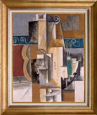 Picasso, violon et guitare