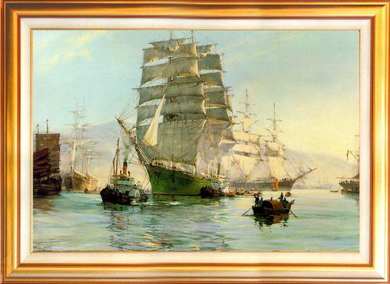 Dawson, la sortie du port de Termopylae