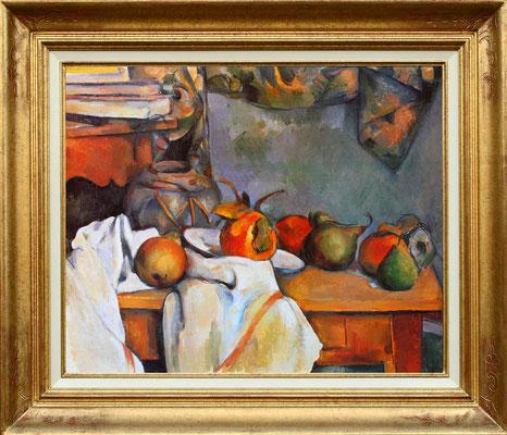Cezanne, nature moertre aux poires