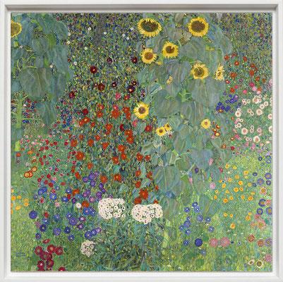 Klimt, tournols dans un jardin fermier