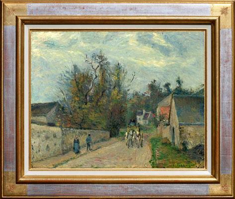 """Pissaro """"Route de Louvecienne"""""""